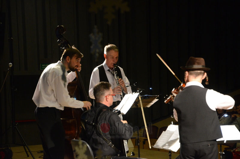 Photo taken during one of Accorinet Klezmer Band's concerts